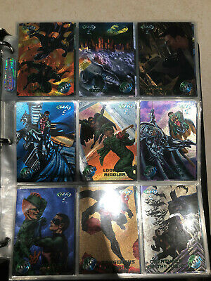 Batman Forever Metal full Set + Inserts