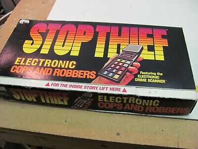 Vintage 1979 Parker Brothers Stop Thief Board Game Complete - Barely Played!