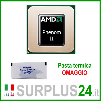 CPU AMD PHENOM II X4 955 HDZ955FBK4DGI-GM 3.20 GHZ 6MB Socket AM2+AM3