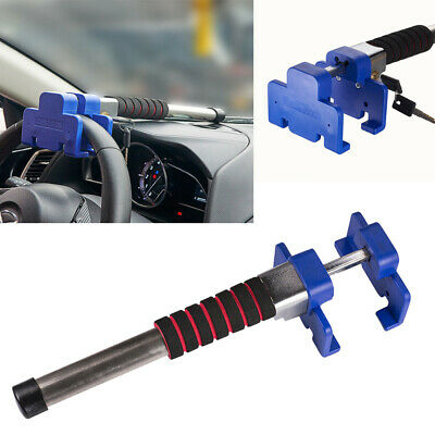Universal Car Steering Wheel Lock Vehicle Van Anti-Theft Security Rotary Lock