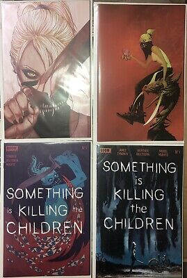 Something is Killing the Children 1 A B C variant cover lot Lee Frison Boom 1st