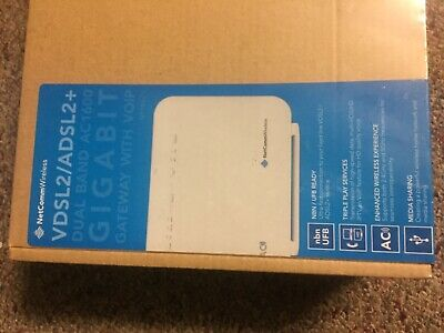 NetComm NF18ACV VDSL2/ADSL2+ Wireless AC1600 Modem Router with  - NBN Ready