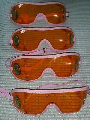 KROOPS  Brass Vented Skydiving Parachute Goggles  X4