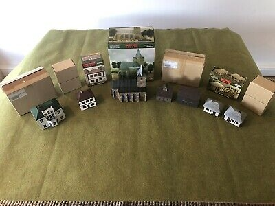 M5 PAINTED Joblot trenches and sandbags 20mm For wargaming scenery for 15mm