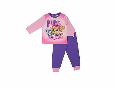 Girls Paw Patrol Pups Away  Pyjamas Nightwear Sleepwear PJS Age 18M-5 Y