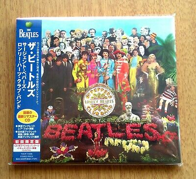 The Beatles Sgt. Pepper's Lonely Hearts Club Band Cd Japan Tocp-71008 2009 Obi