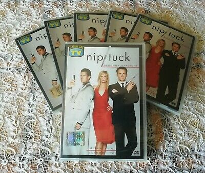 DVD Serie TV Nip Tuck Seconda Stagione Completa SIGILLATI NO LA CASA DI CARTA