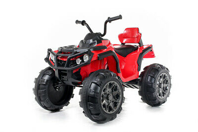 Red Twin Motor Quad - 12V Kids' Electric Toy Ride On