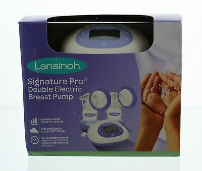 Lansinoh Signature Pro Electric Double Breast Pump 2 Phase, Accessories Tote Bag