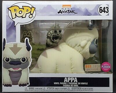 """Funko Pop! Avatar #643 6"""" Appa (Flocked) Boxlunch Exclusive *2-3 Days Shipping*"""