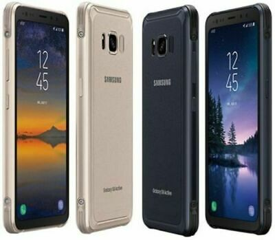 Mint SAMSUNG GALAXY S8 ACTIVE G892A (LATEST) 64GB GSM UNLOCKED (LCD Ghost)