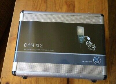 AKG C414 XLS Stereo Set Condenser Microphone Matched Pair Brand New