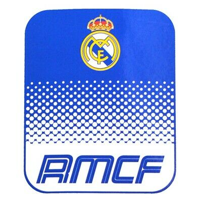 REAL MADRID FLEECE BLANKET OFFICIALLY LICENSED FREE SHIPPING 60' x 50'
