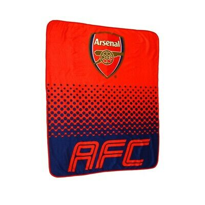 ARSENAL FLEECE BLANKET OFFICIALLY LICENSED FREE SHIPPING 60' x 50'