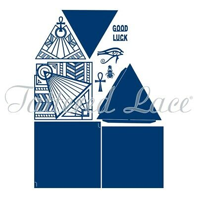 Tattered Lace - Egyptian Collection - Pyramid Card Die Set