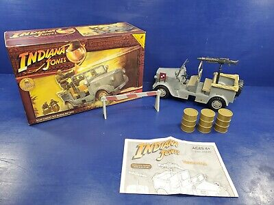 Indiana Jones Raiders Of The Lost Ark Deluxe German Troop Car Misb Hasbro