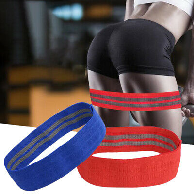 Resistance Bands Fabric Hip Circle Booty Loop Glute Leg Squat Exercise Fitness
