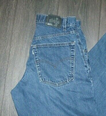 VTG Levi's Silvertab Baggy Jeans SIZE 32x30 Made in USA Cotton
