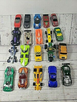 Mixed Lot of 20 Mattel Hot Wheels Toy Cars Assorted Diecast,Plastic Free Ship