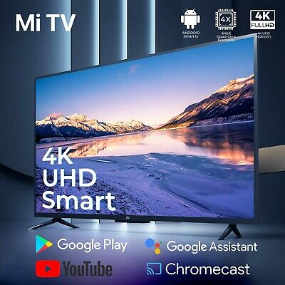 "【International Version】Xiaomi 55"" 43""32"" inch 4K HDR AndroidTV UHD SMART  LED TV"