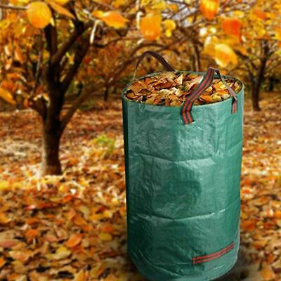 80/132 Gallon Garden Leaves Basket Reinforced Weave Trash Garbage Rubbish Bags
