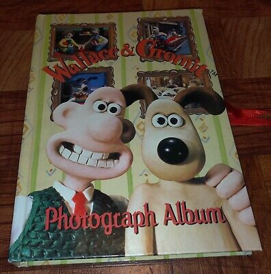 Wallace & Gromit Collectible Photograph Album 1996 Aardman Animations