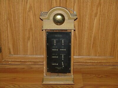 Antique Vintage The Knapp Servant Butler Call Bell Box Needs Repaired