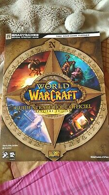 RARE !!! GUIDE STRATEGIQUE OFFICIEL WORLD OF WARCRAFT CLASSIC FR excellent etat