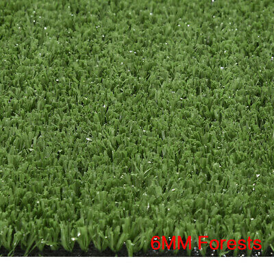 6mm Budget 1m x 1m Artificial Grass Mat Astro Turf Fake Lawn Realistic Natural