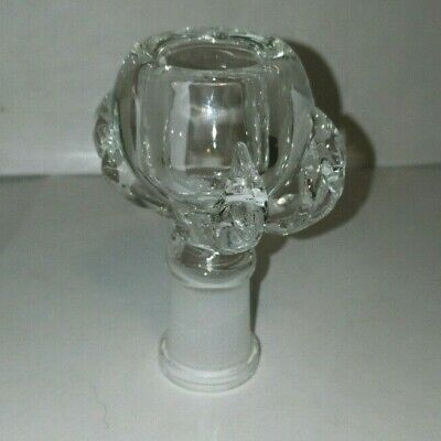18Mm Glass Female Clear Dragon Claw Bowl Buy2 Get 3 / Buy 3 Get 5/ Buy 5 Get 10