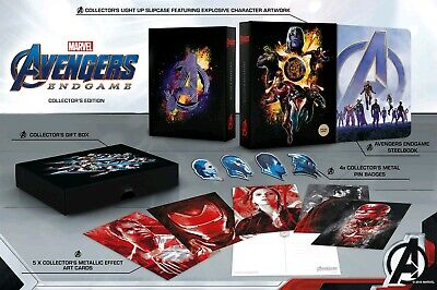 Avengers Endgame - Collector's 4K Bluray Steelbook Set (Region Free) Marvel