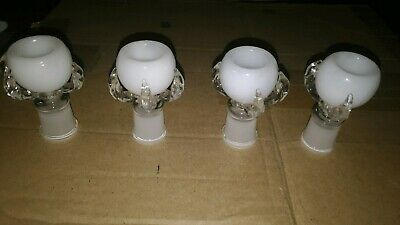 18Mm Glass Female White Dragon Claw Bowl Buy2 Get 3 / Buy 3 Get 5/ Buy 5 Get 10