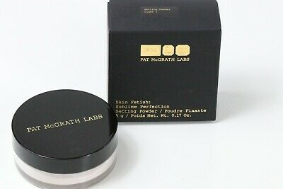 PAT McGRATH LABS SKIN FETISH SUBLIME PERFECTION SETTING POWDER LIGHT 1 SWATCHED