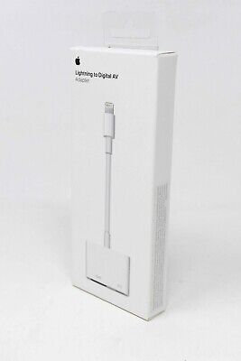 Apple Lightning to Digital AV HDMI Adapter for iPhone iPad - MD826AM/A - NEW