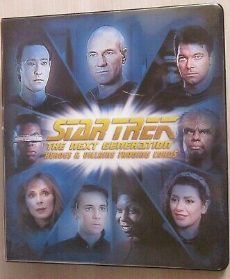 Tradingcard Album - ST TNG Heroes and Villains - Rittenhouse