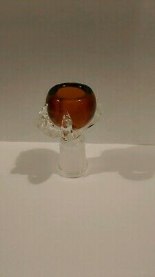 18Mm  Female Glass Orange Dragon Claw Bowl Usa  Buy2 Get 3/ Buy 3 Get 5/ B5 G10