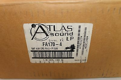 "Atlas Square Grill For 4"" Strategy Speakers Fa170-4"