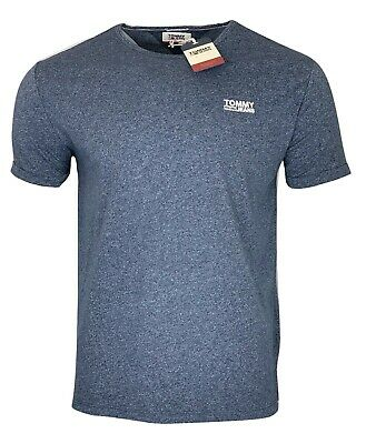 Tommy Hilfiger Men's Crew Neck Regular Fit T-shirt - Black Iris - XXL