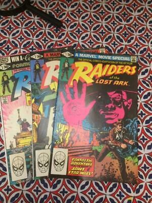 Marvel 1983 RAIDERS OF THE LOST ARK Issues 1-3 Complete Set