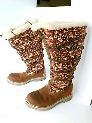 TIMBERLAND LADIES WINTER Boots Ltd Edition Global Journeys