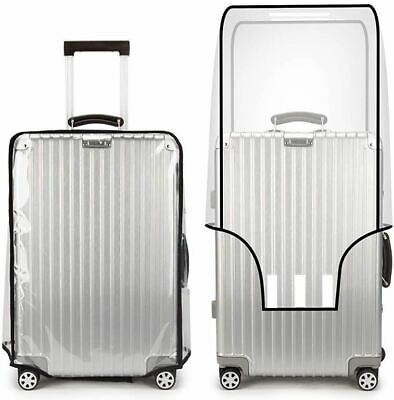 Transparent Suitcase Cover Luggage Protector Travel PVC Bag 20''22''24''26''