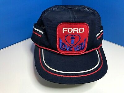 FORD I Love You - Vintage Trucker Farmer Hat Cap