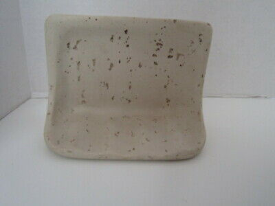 Wall Mounted Recessed Travertine Soap Dish/Holder