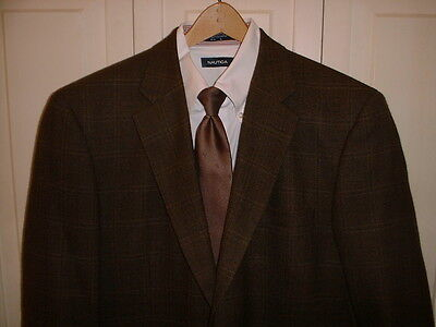 Great Quality !  Brown & Feiss Sports Coat  42 L( or Reg.--see measurements)