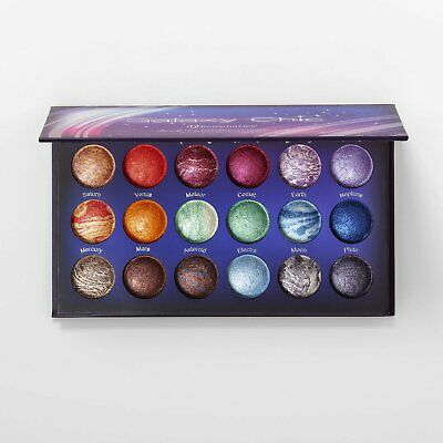 BH Cosmetics: Galaxy Chic - 18 Color Baked Eyeshadow Palette bnib