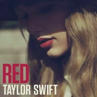 Red by Taylor Swift (CD, Oct-2012)  SHIPPING ONLY TO EUROPE