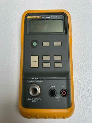Fluke 713 100G Digital Hand Held Pressure Calibrator 0 To 100 Psi (For Parts) Uu