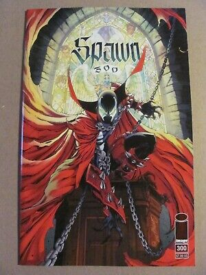 Spawn #300 Image 1992 Series Todd McFarlane J Scott Campbell Variant 9.4 NM
