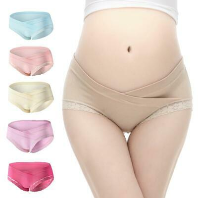 Support Clothes Women Low Waist Underwear Pregnant Panties Briefs Maternity