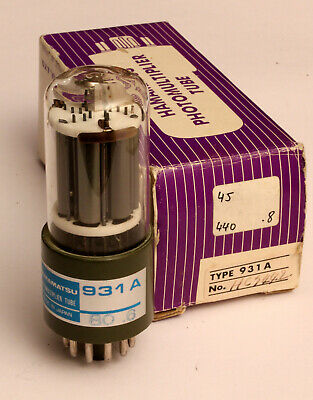 1 x Hamamatsu - 931A - Pmt Photomultiplier Tube New in Sa Box